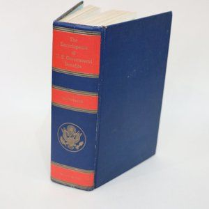 Encyclopedia of US Goverment Benefit Blue Book